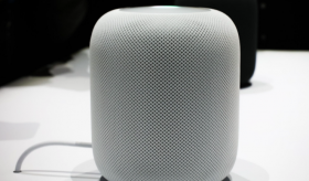 An_Apple_HomePod_speaker