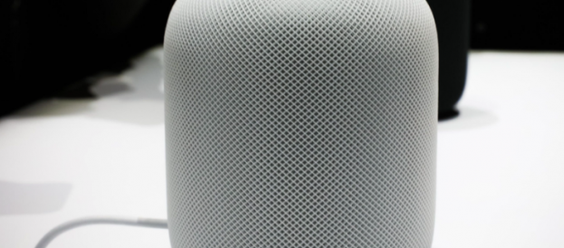 An_Apple_HomePod_speaker
